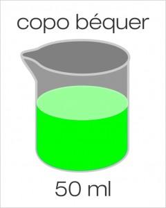 copo béquer 50ml