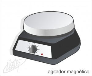 vidrarias de laboratório - agitador magnético