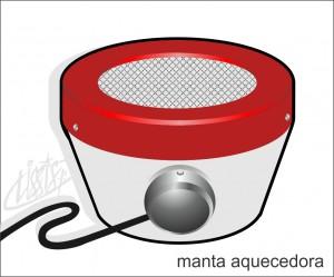 vidrarias de laboratório - manta aquecedora