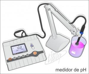 vidrarias de laboratório - medidor de pH