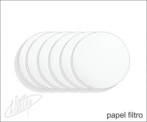 vidrarias de laboratório - papel filtro