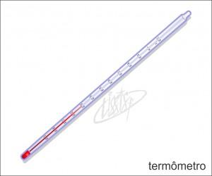 vidrarias de laboratório - termometro