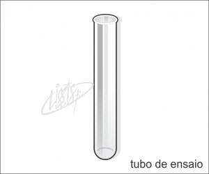 vidrarias de laboratório - tubo de ensaio