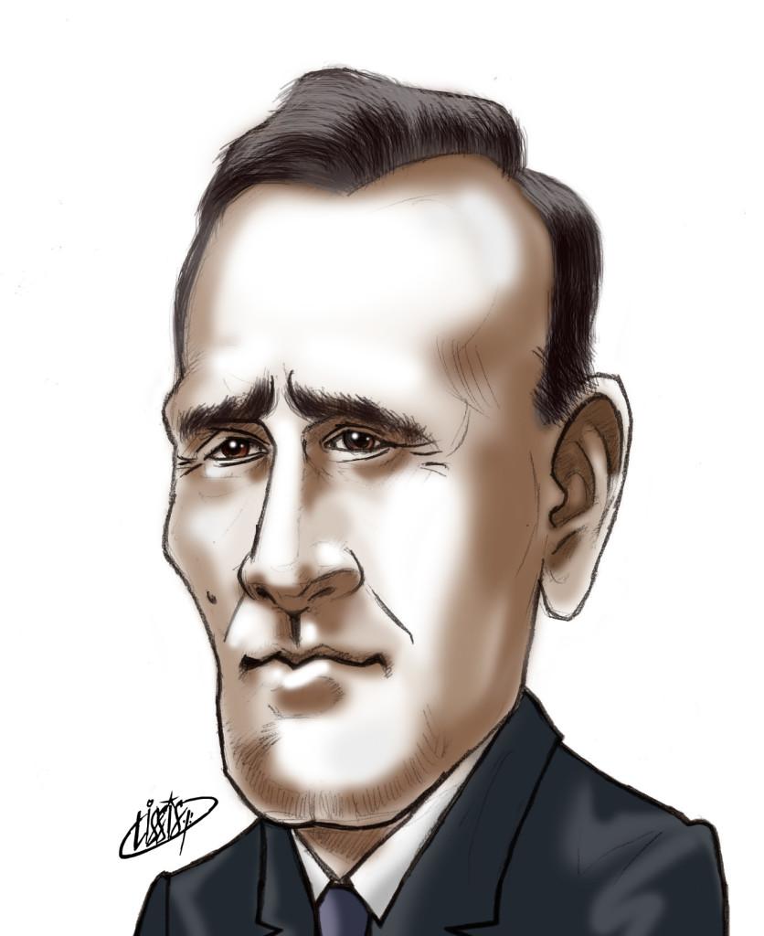 Edwin Powell Hubble desenho