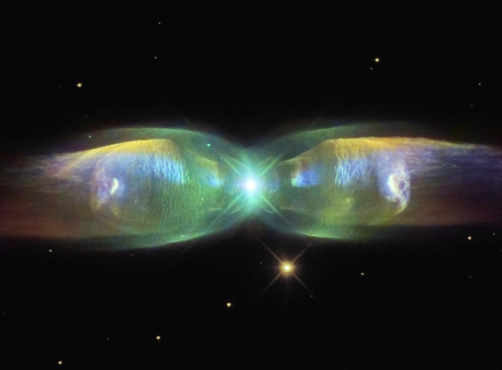nebulosa planetária M2-9 1985