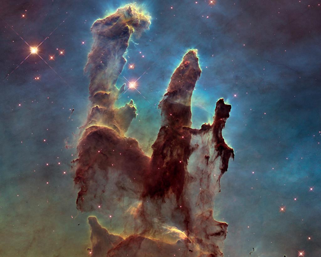 Pilares da Criação - Nebulosa de Águia 1995